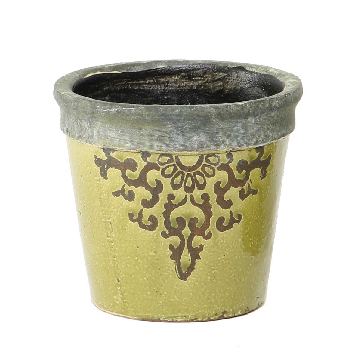 "FILIGREE GARDEN POT 5.5""X5.5"