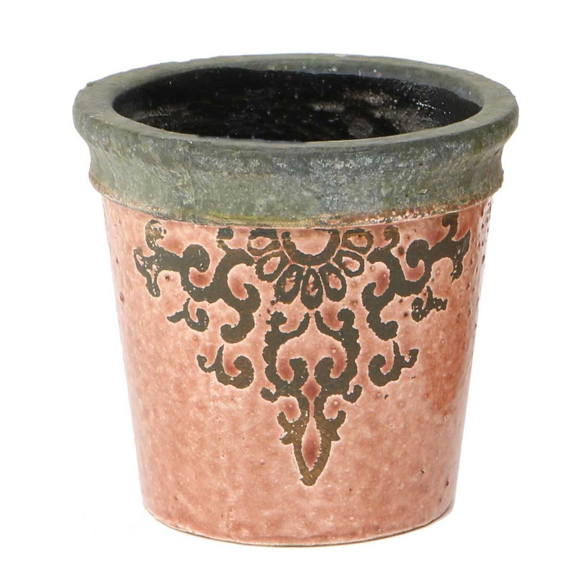 "FILIGREE GARDEN POT 4""X4.5"""
