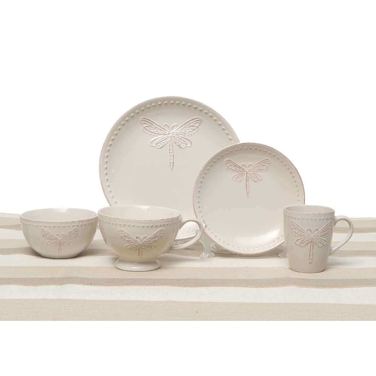DRAGONFLY 5 PIECE PLACE SETTING