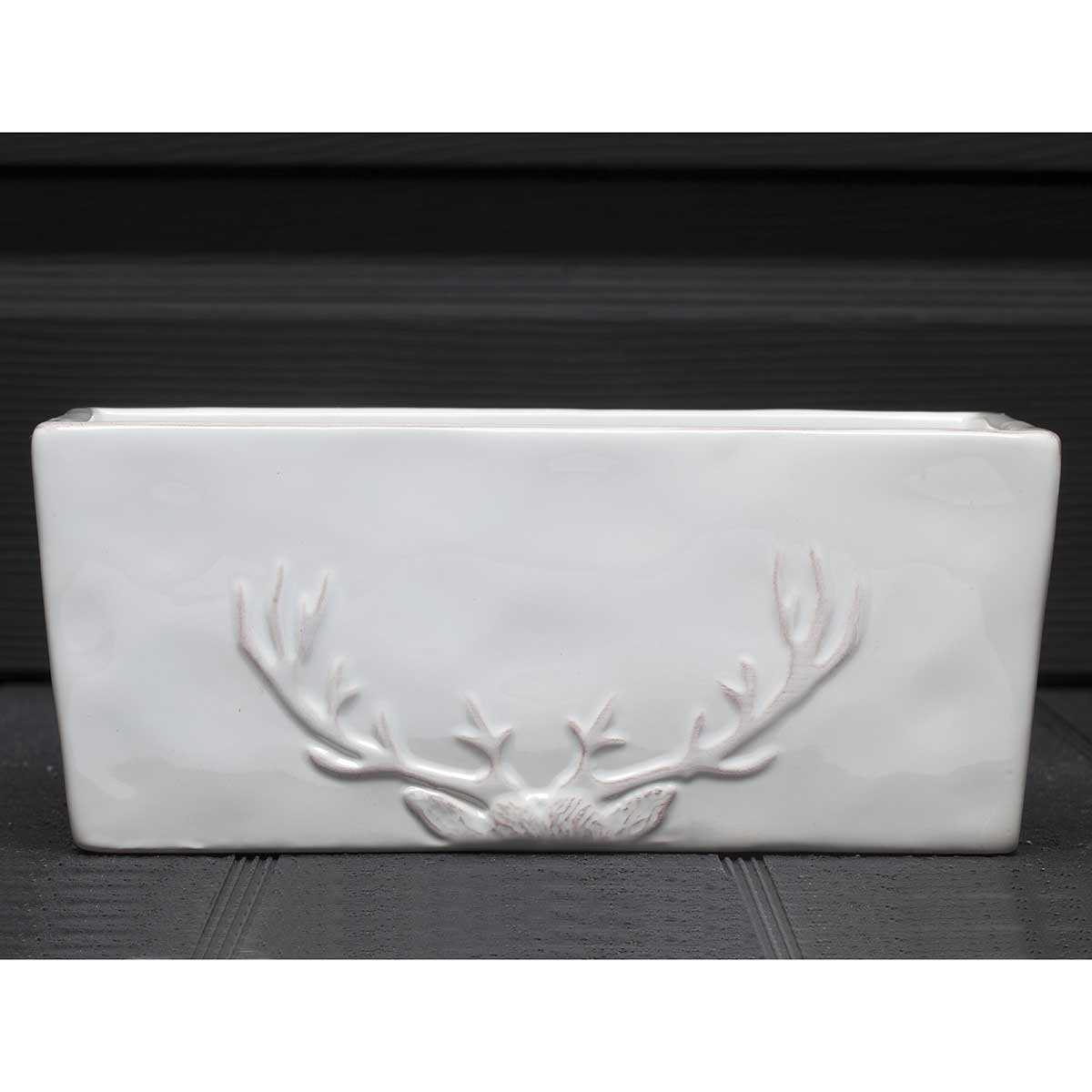 "WHITE STAG RECTANGULAR BOWL 8.5""X3.5""X4"""
