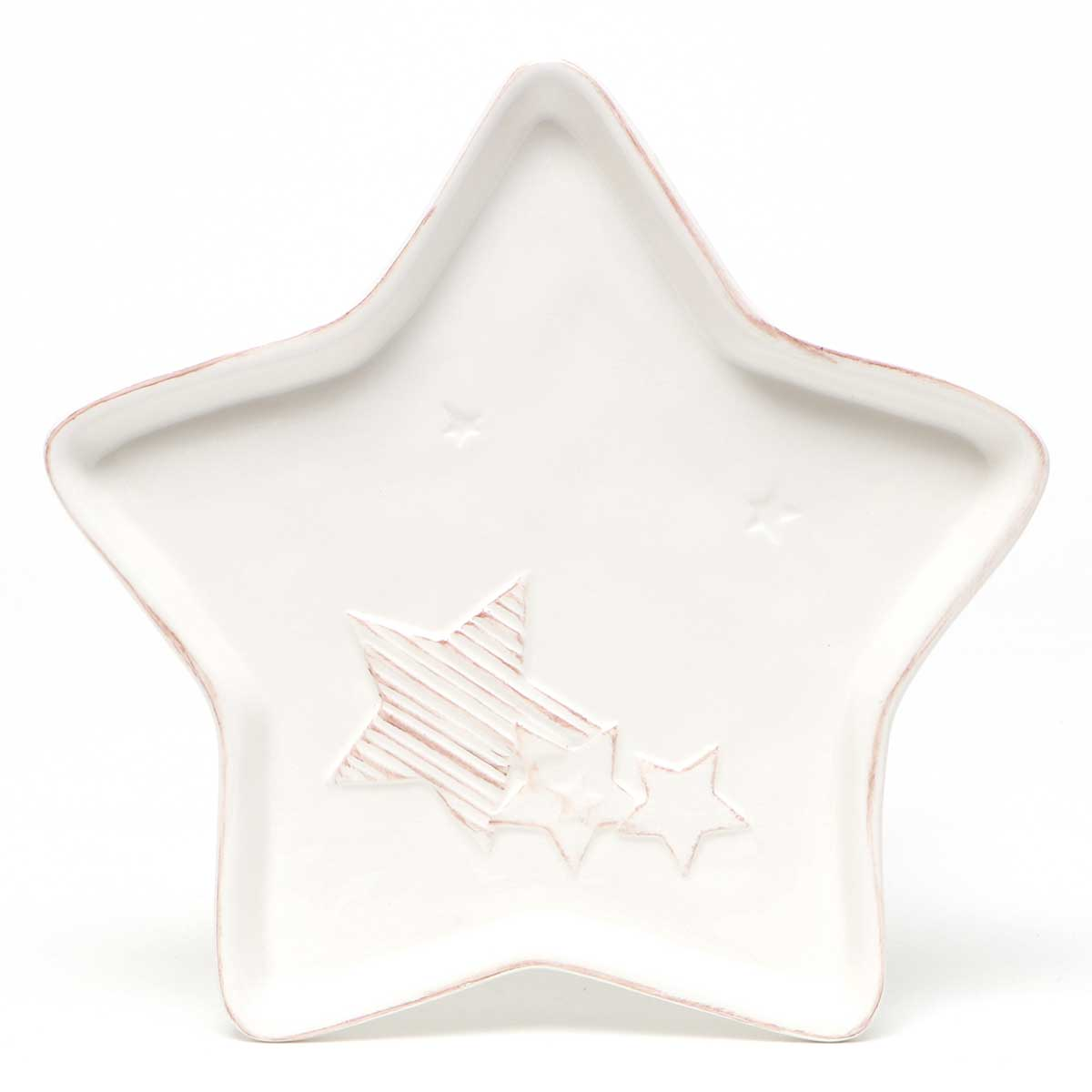 HOLIDAY STAR SHAPED PLATTER