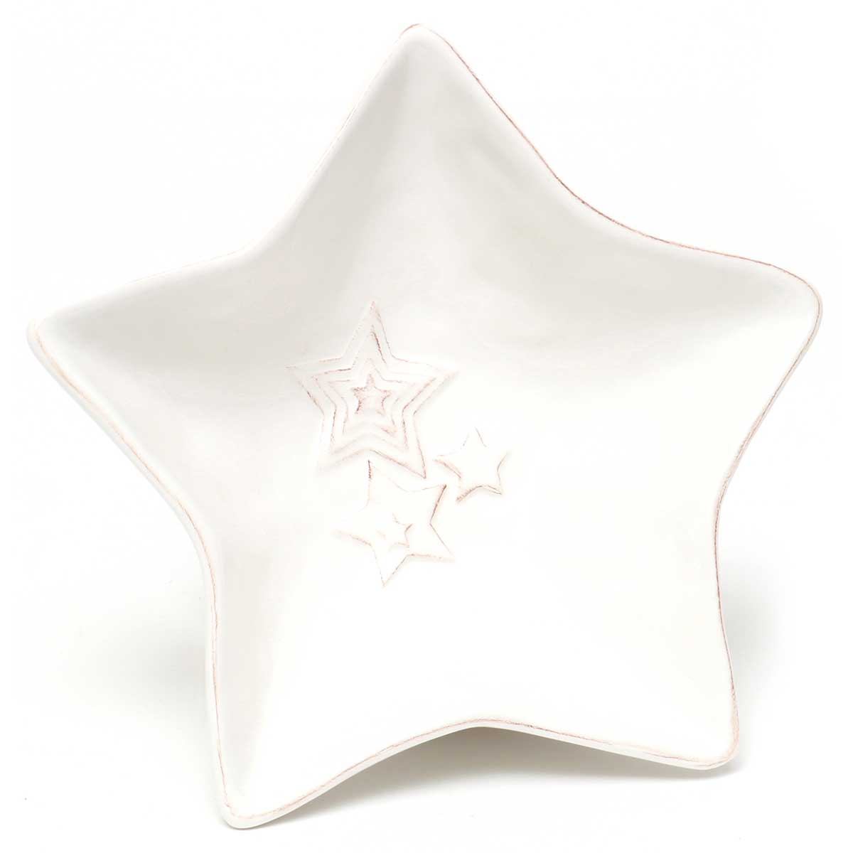 HOLIDAY STAR SHAPED CANDY BOWL