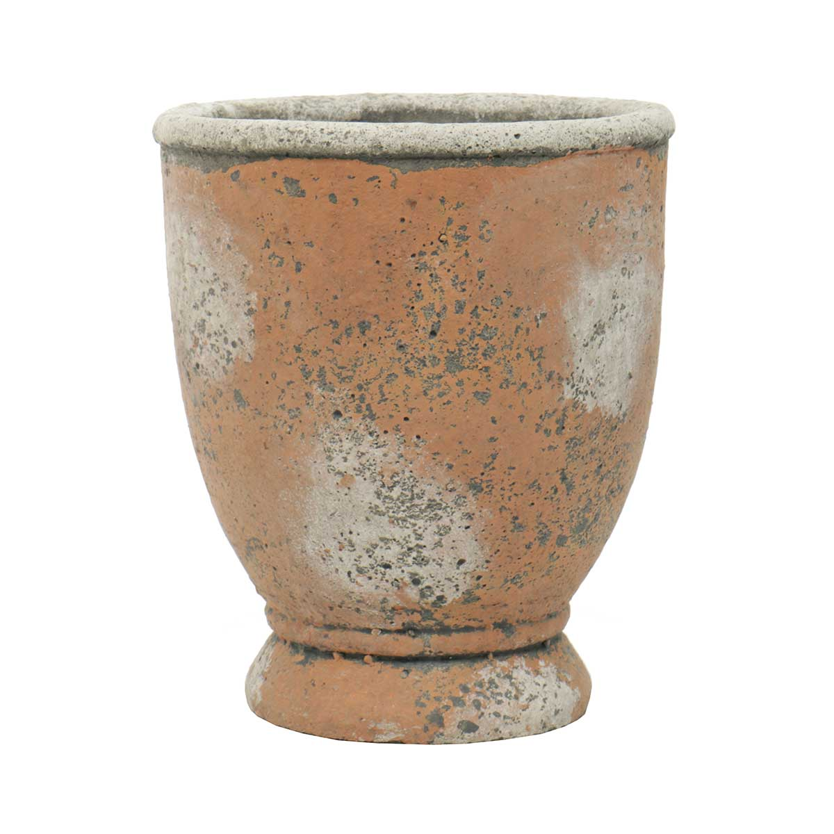 "VASE 5.5""X7"" CONCRETE - Click Image to Close"