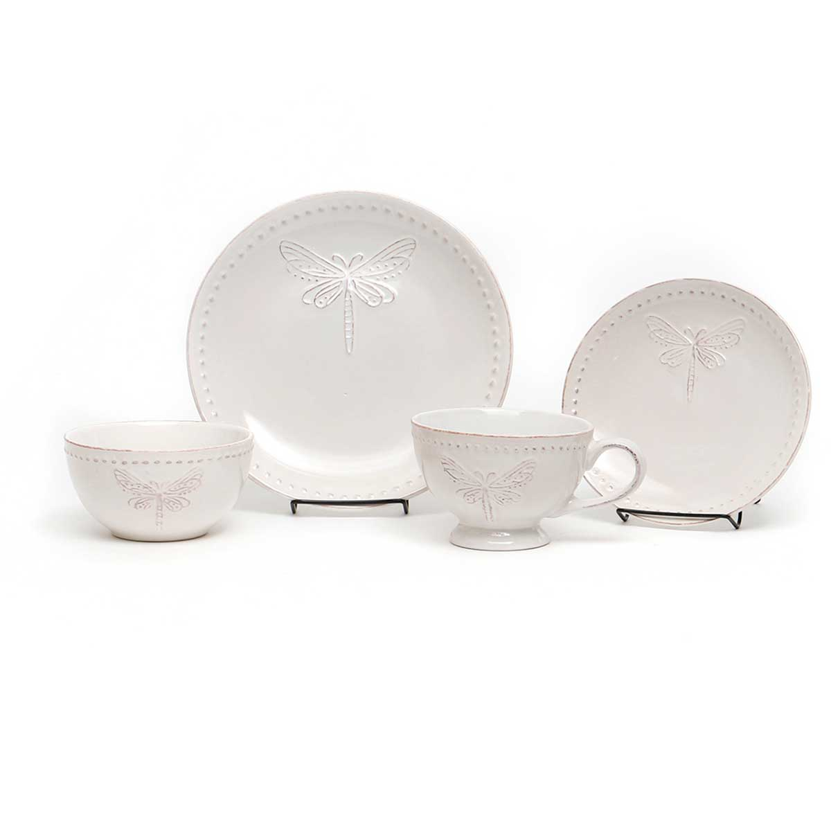 DRAGONFLY DISH 4-PIECE SET