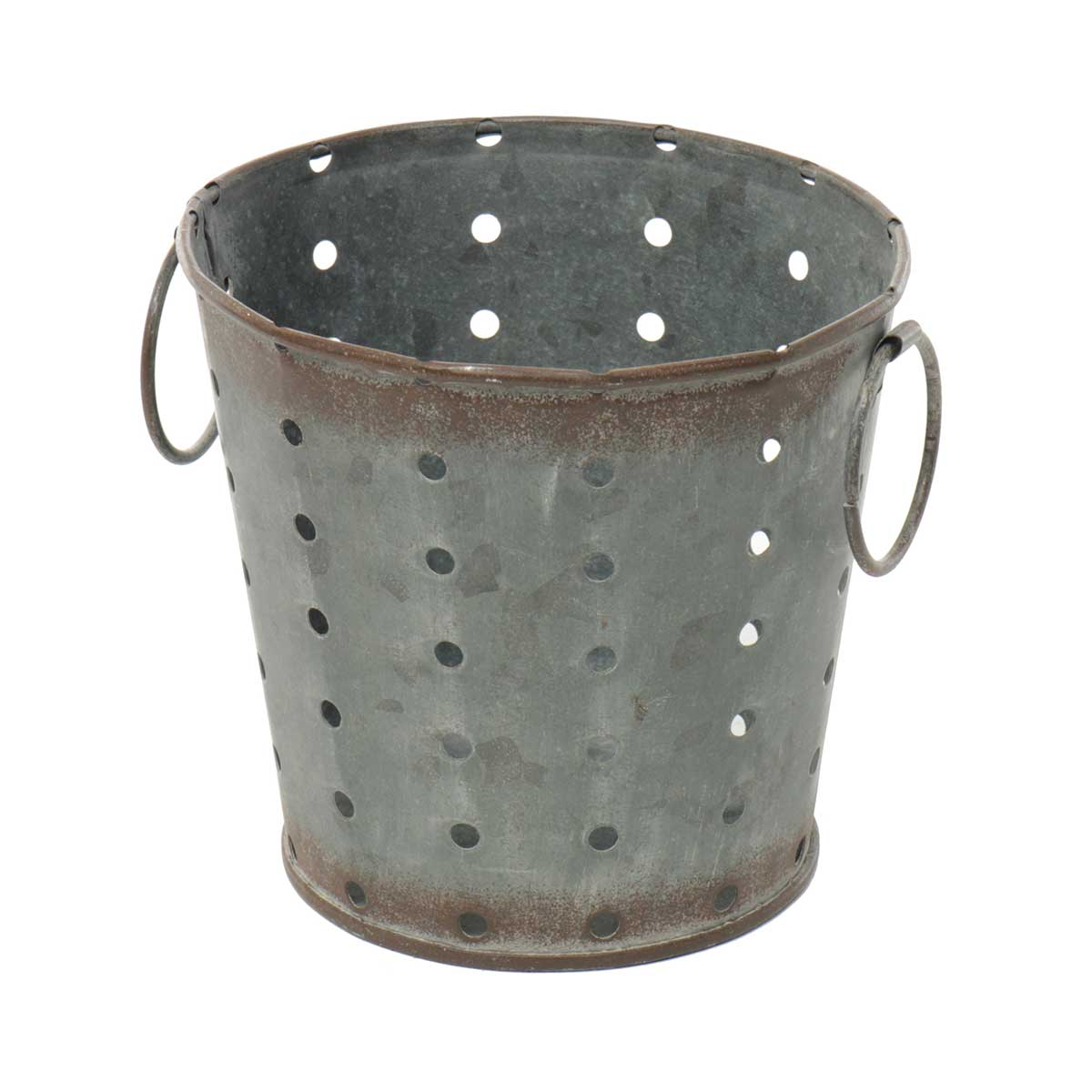 METAL PUNCH DOT BUCKET