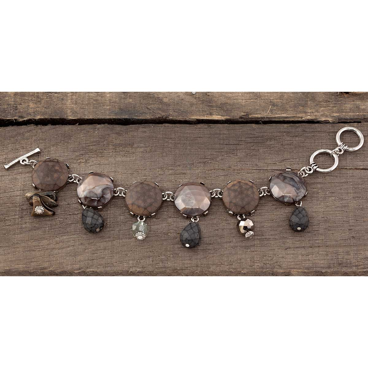 "Artisan Stone Bracelet 7 1/2"" 70sp"