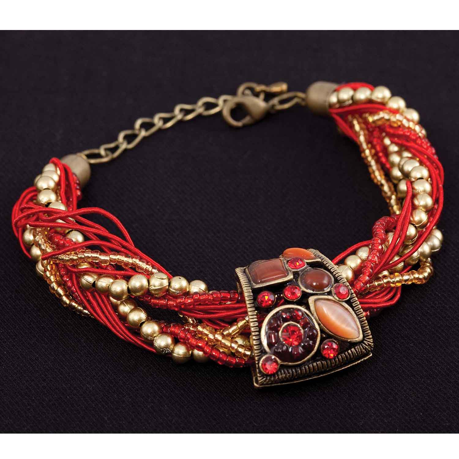 "Casablanca Bracelet In Paprika 7""-9"" *30sp"