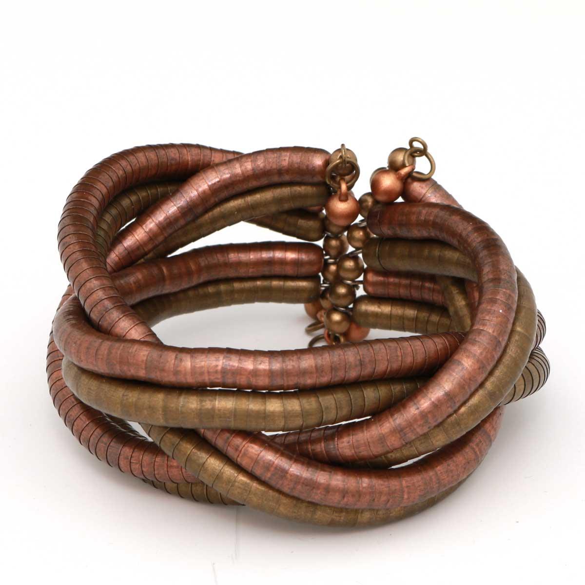 Bronze Braided Bracelet