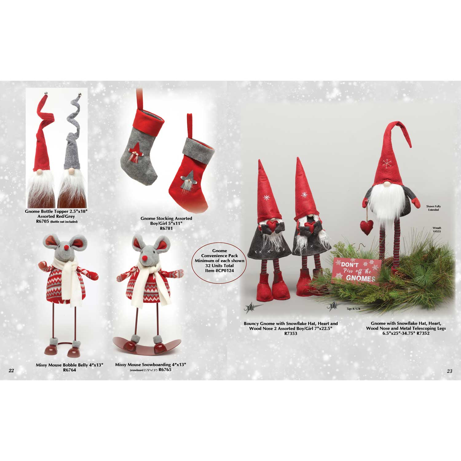 Gnome Assortment Convenience Pack