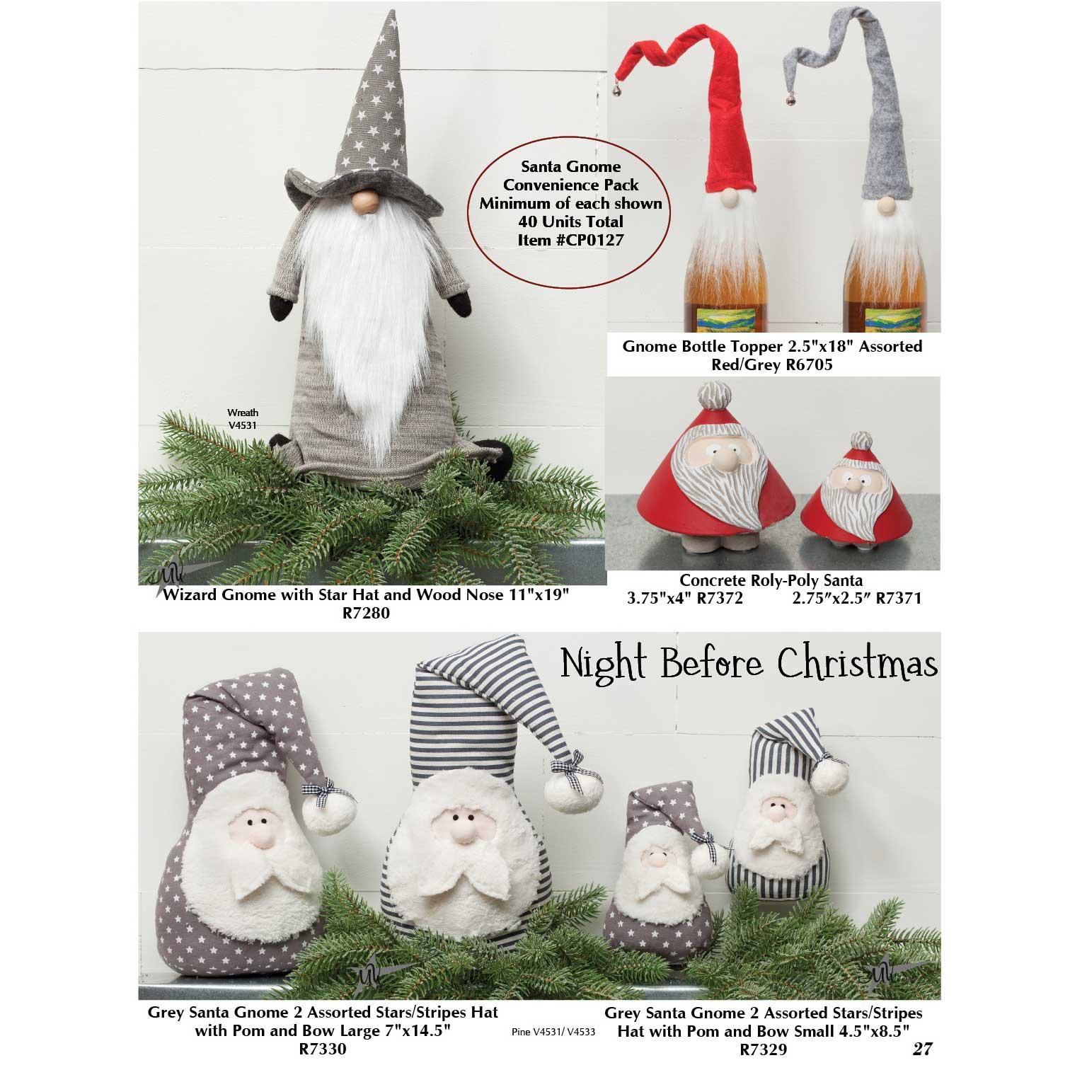 Santa Gnome Convenience Pack