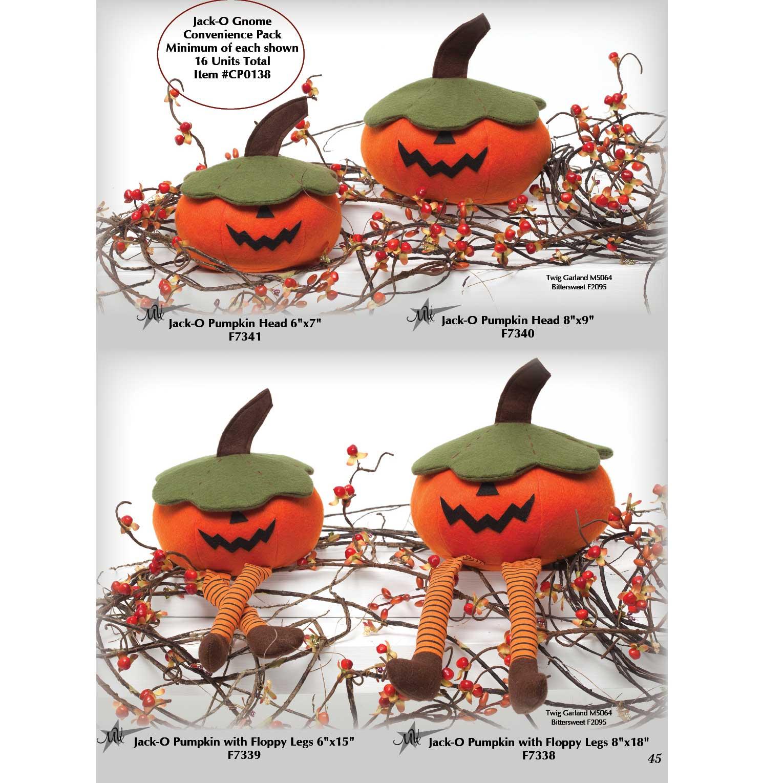 Jack-O Pumpkin Convenience Pack
