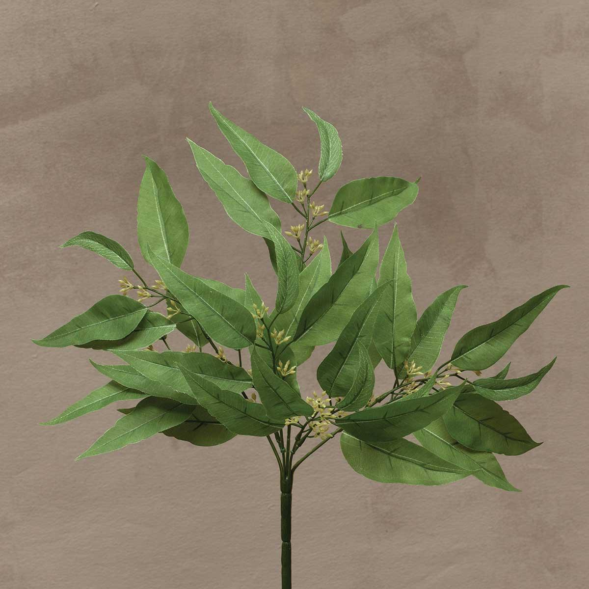 "Wild Eucalyptus Bush 19"" Light Green"