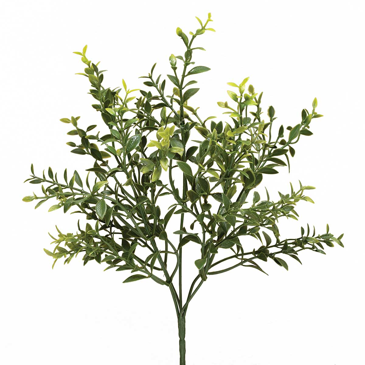 "ARTIFICIAL GREEN PRIVET BUSH 7""X14.5"""