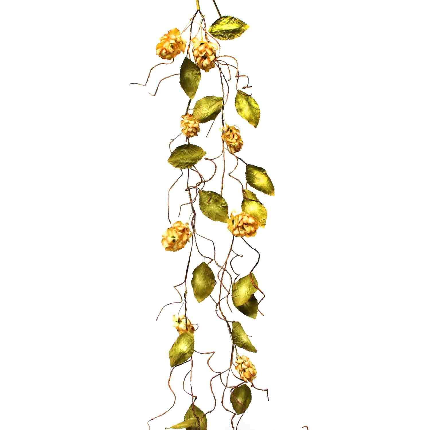 "DRIED HOPS GARLAND 66"" Beige"