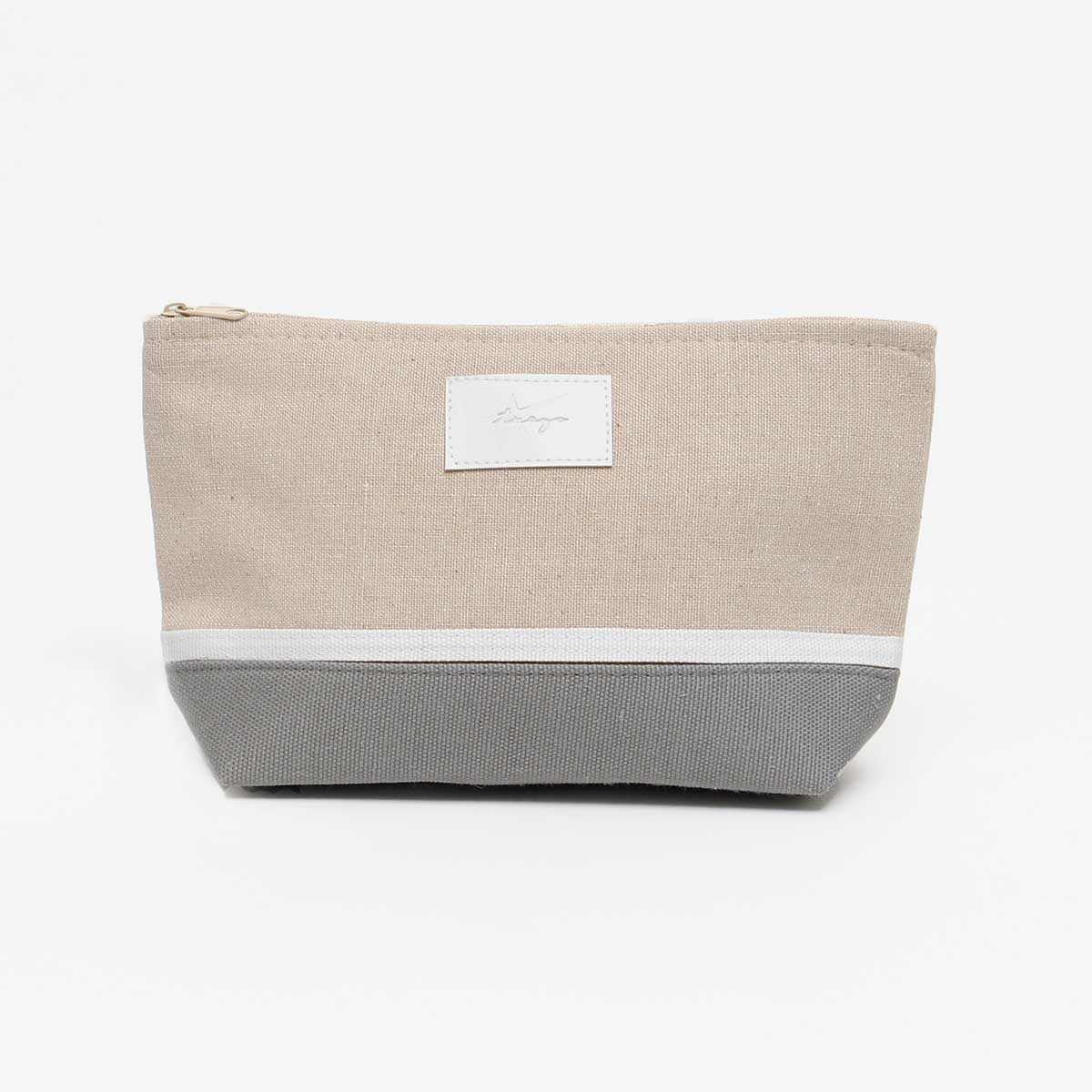 "Gray Maritime Accessory Bag 6""x2.5""x9.5"""