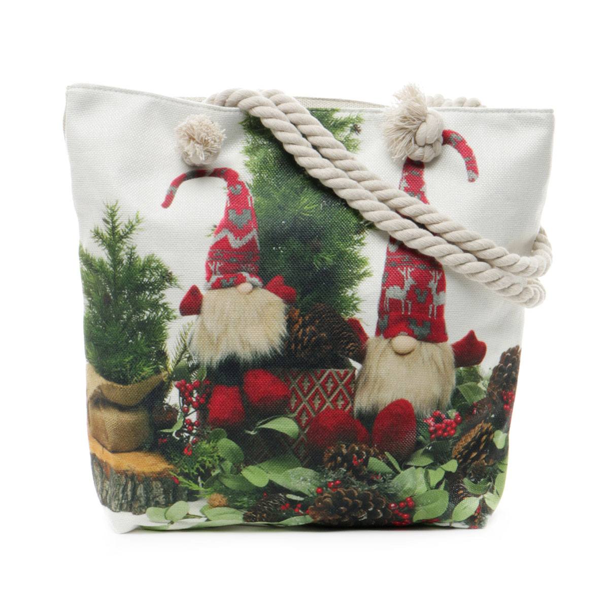 Reindeer Games Tapestry Bag with Adjustable Should Strap, Lining
