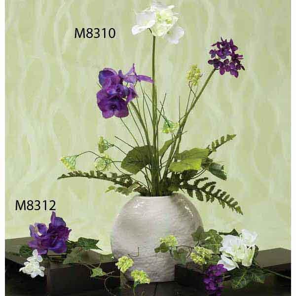 """M8310 ENGLISH GARDEN HYDRANGEA BUSH 23"""" b50"""
