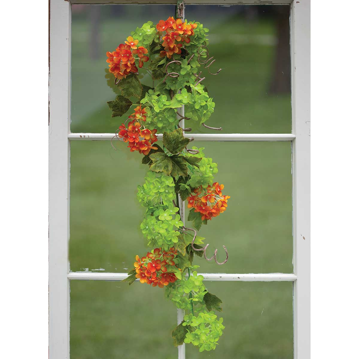 Cabrera Snowball Blossom Door Bough 37� M9152