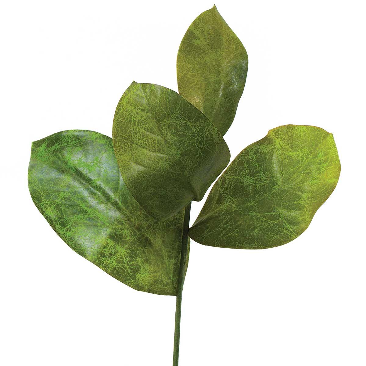 "M9154 Plantation Magnolia Leaf Pik 16"""