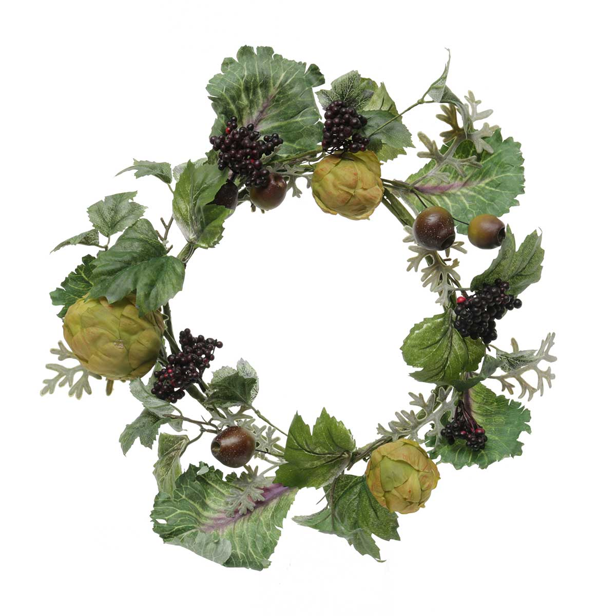 CABBAGE PATCH ARTICHOKE POD WREATH 15""