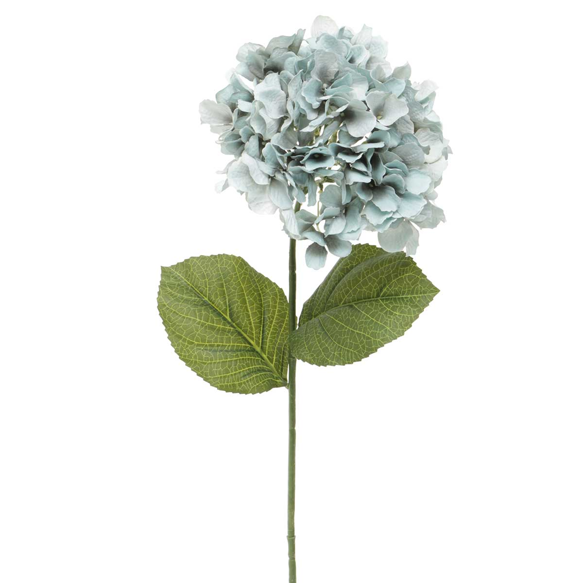 "Sea Glass Hydrangea X1 7""x28"" Blue"