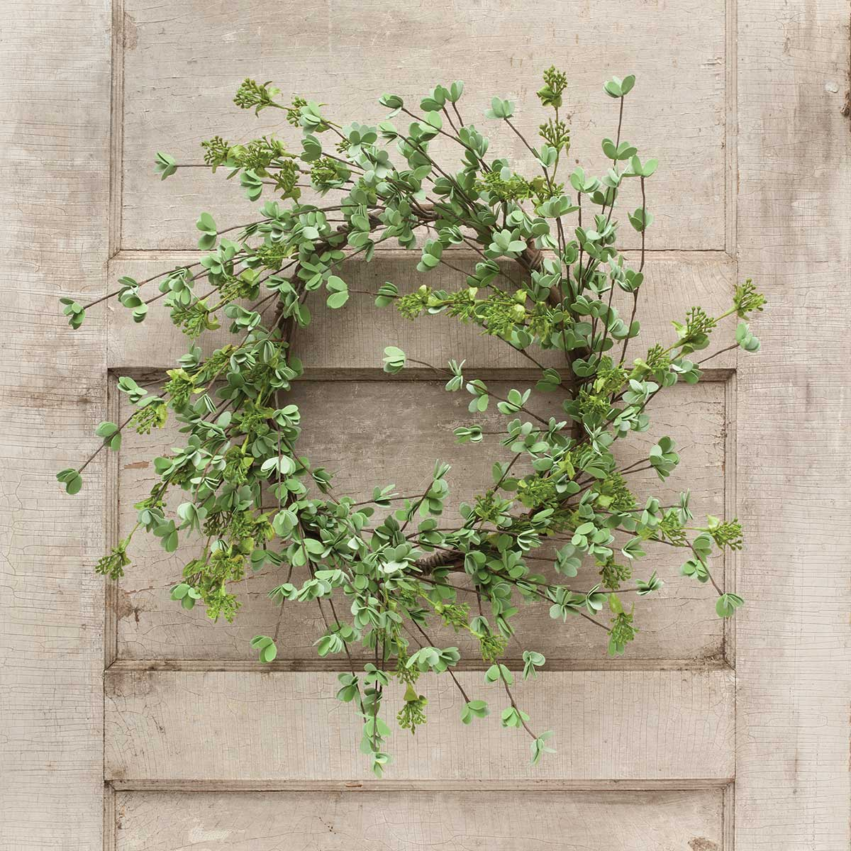 "Mini Leaf Wreath 27"" (Inner Ring 11"")"
