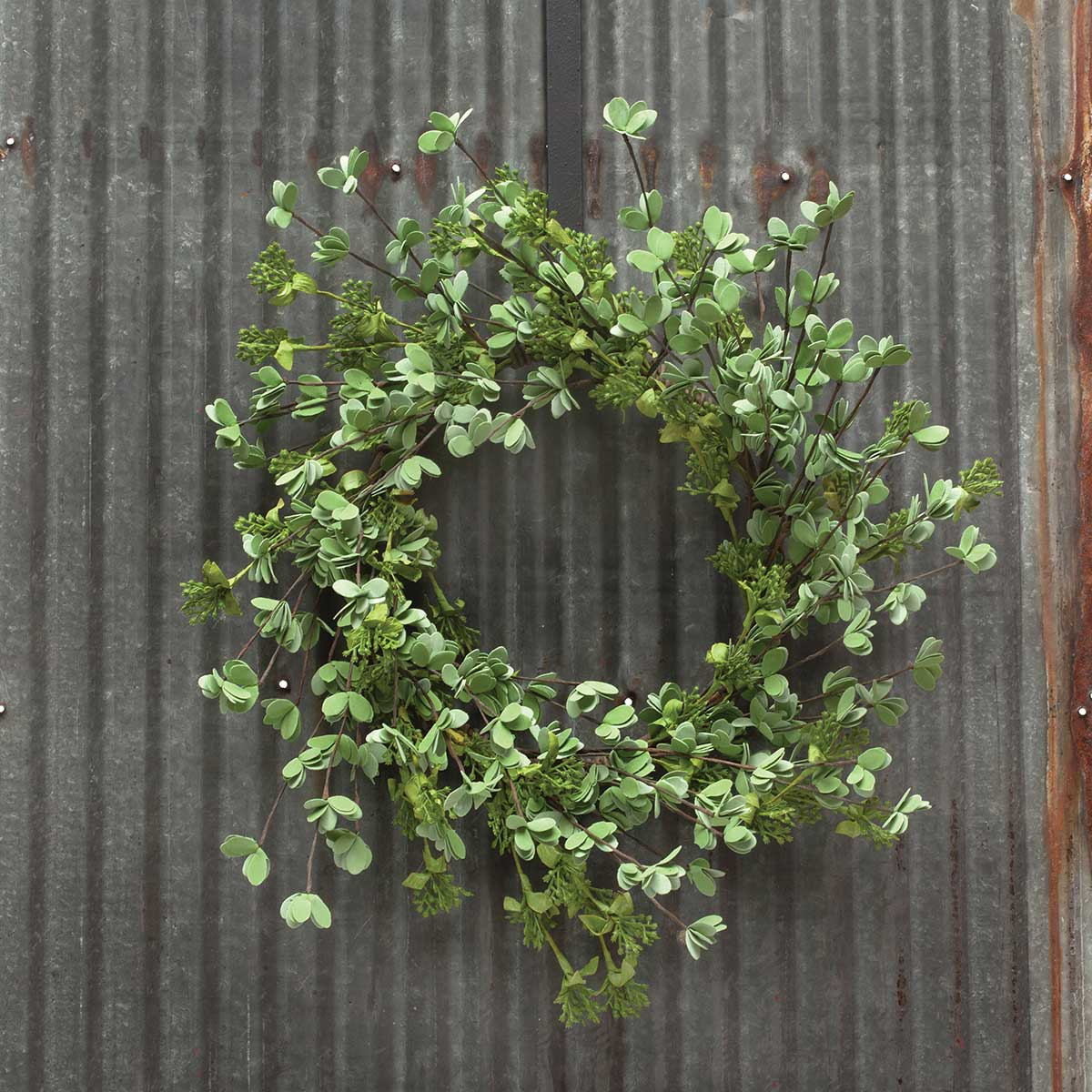 "Mini Leaf Wreath 21"" (Inner Ring 9"")"