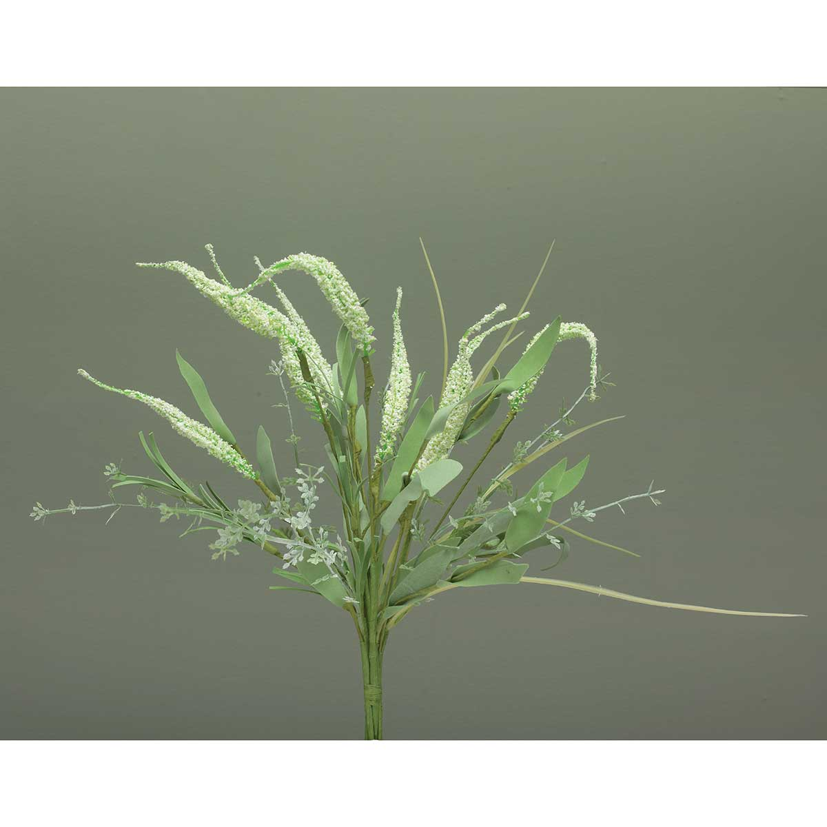 "Wild Astilbe Bush 12""x13.5"" White"
