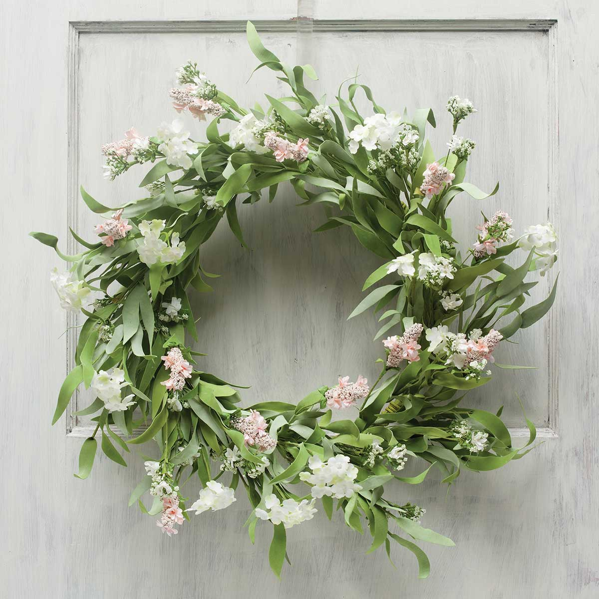 BLOSSOM ME PINK WREATH