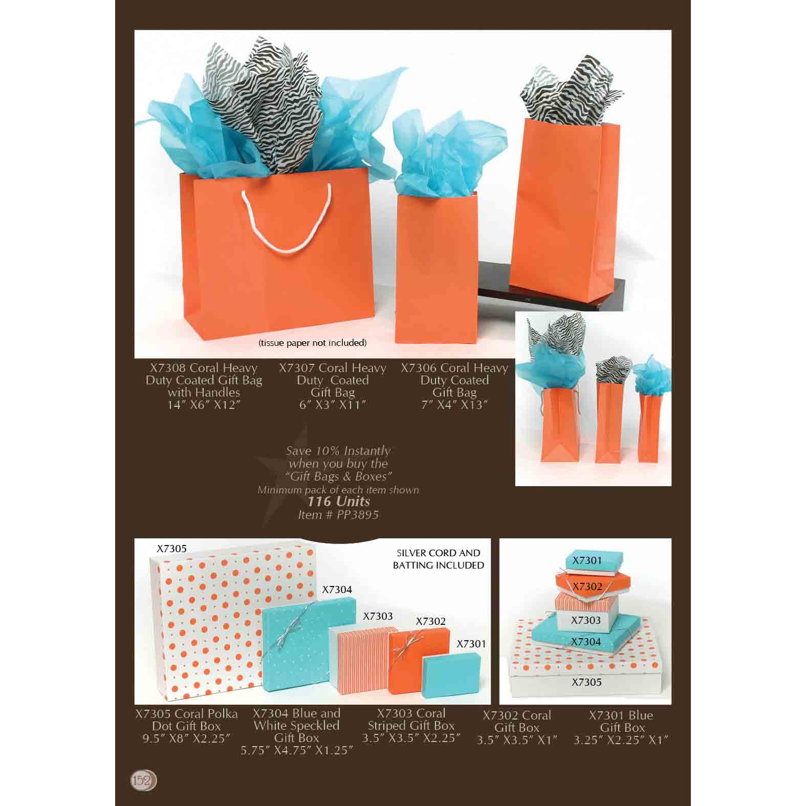 Gift Bag and Gift Box Power Pack 116 Units *30sp