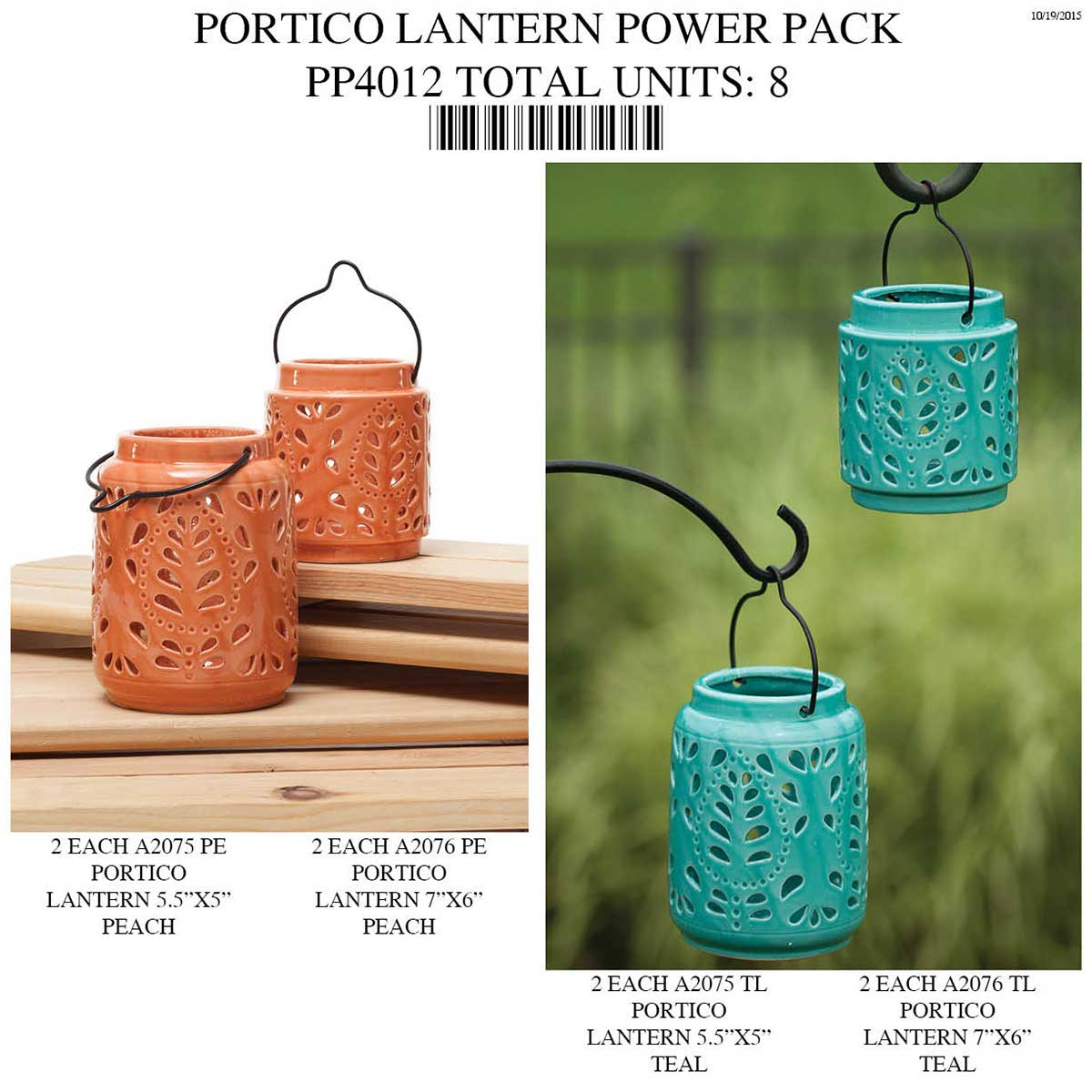 PORTICO LANTERN Power Pack 8 UNITS PP4012