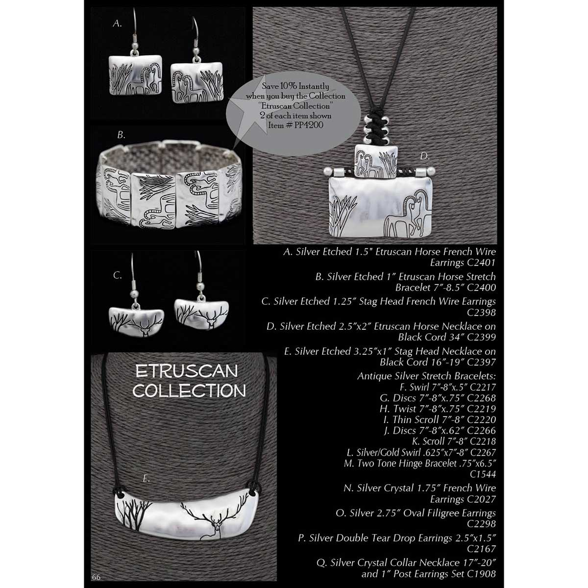 Etruscan Collection PP4200