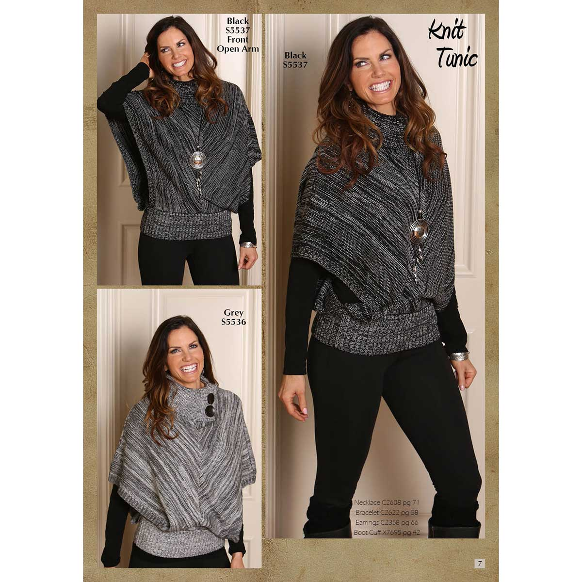 Pullover Tunic Power Pack 4 Units