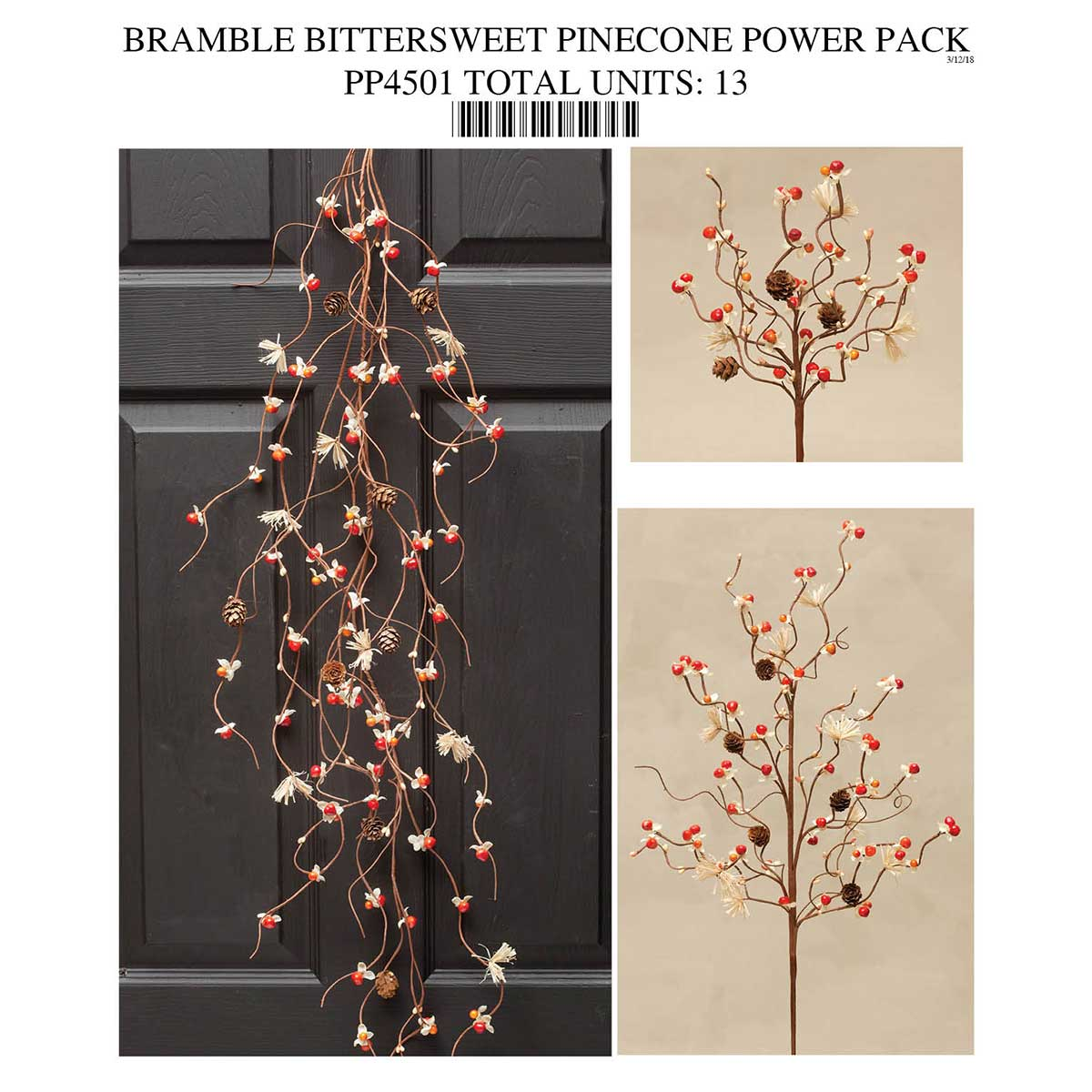 Bittersweet Pinecone Power Pack Collection 13 Units