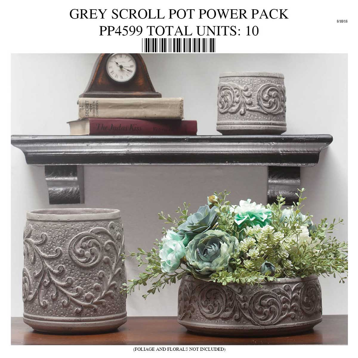 SCROLL POT COLLECTION POWER PACK PP4599