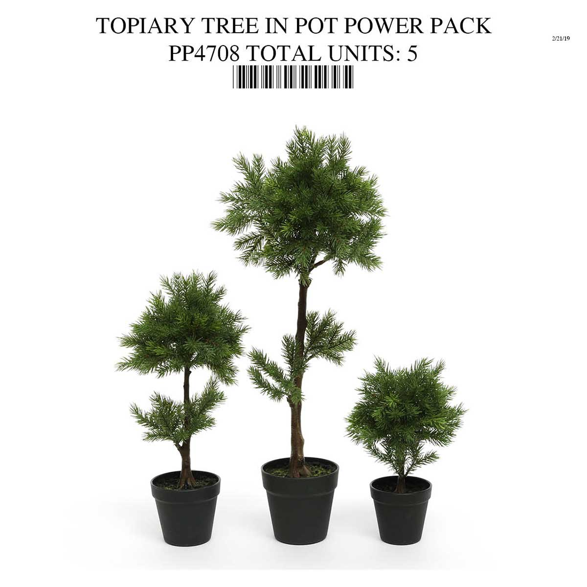 TOPIARY TREE IN POT POWER PACK PP4708