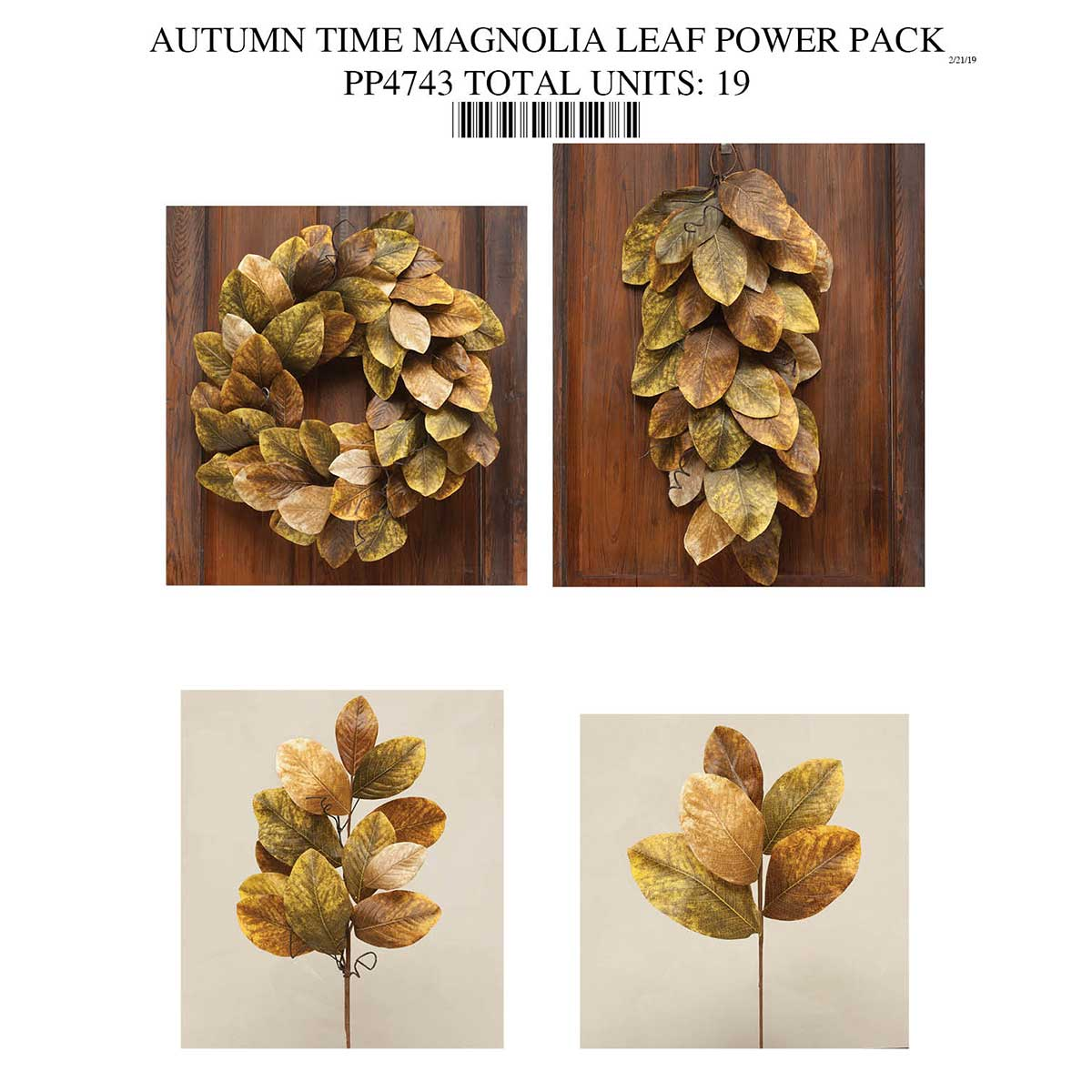 MAGNOLIA LEAF COLLECTION POWER PACK PP4743