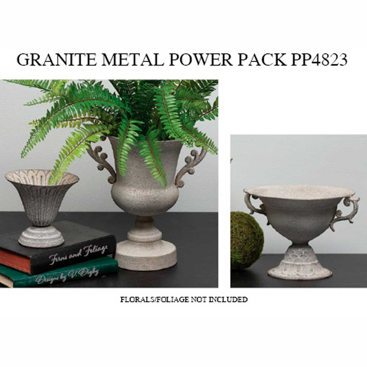 METAL GRANITE URN FINISH POWER PACK 6 UNITS