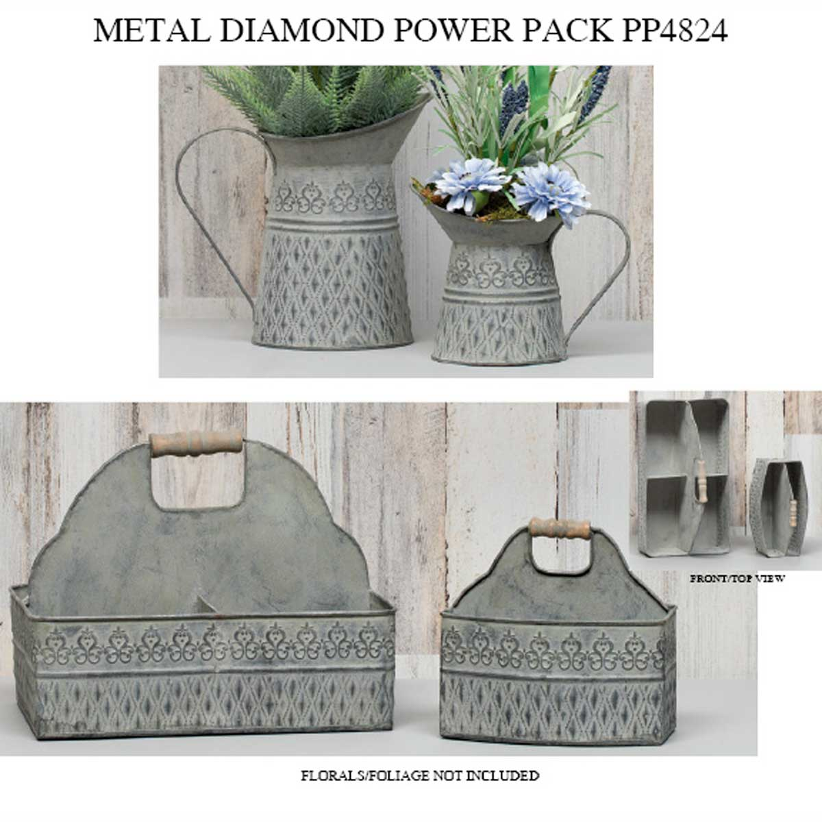 METAL DIAMOND POWER PACK 7 UNITS