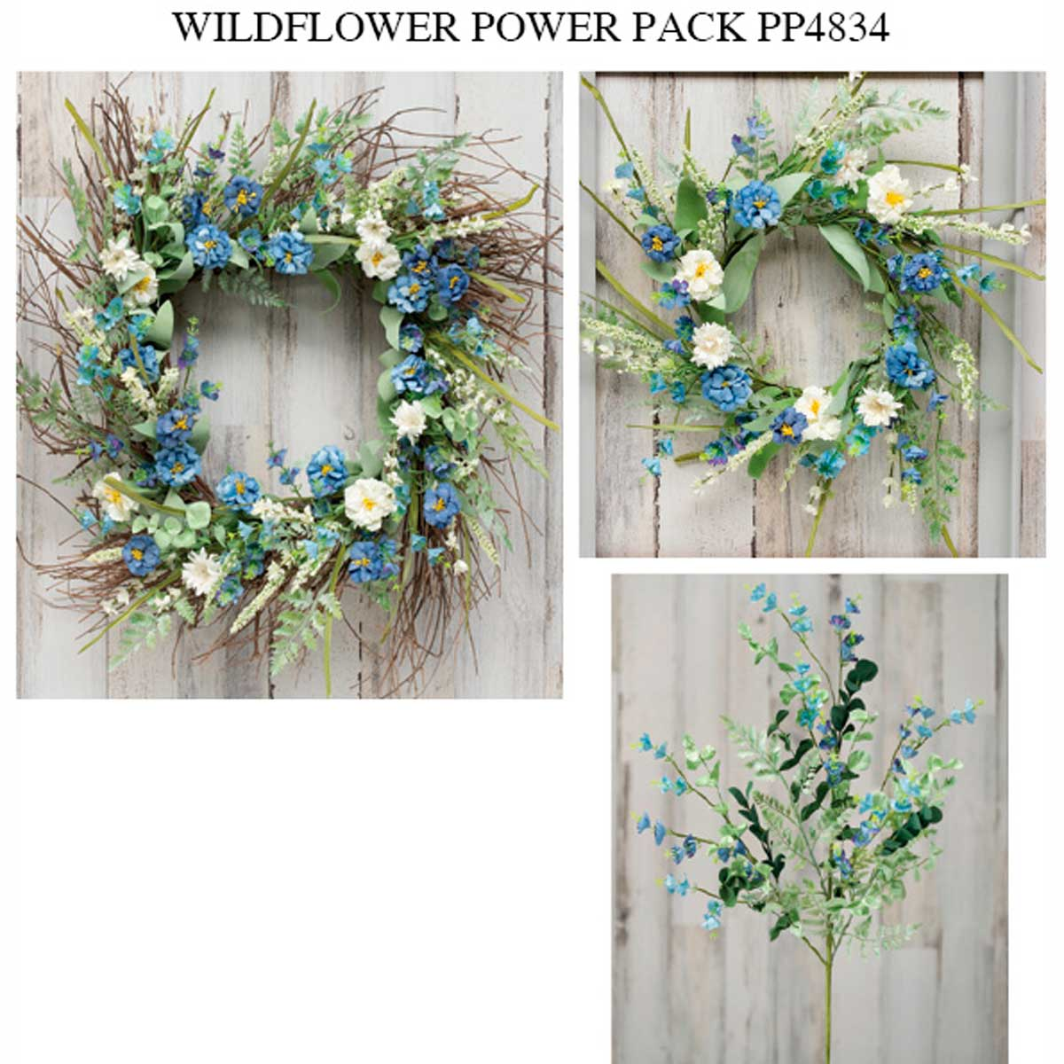 BLUE BAYOU WILDFLOWER AND FOLIAGE POWER PACK 9 UNITS