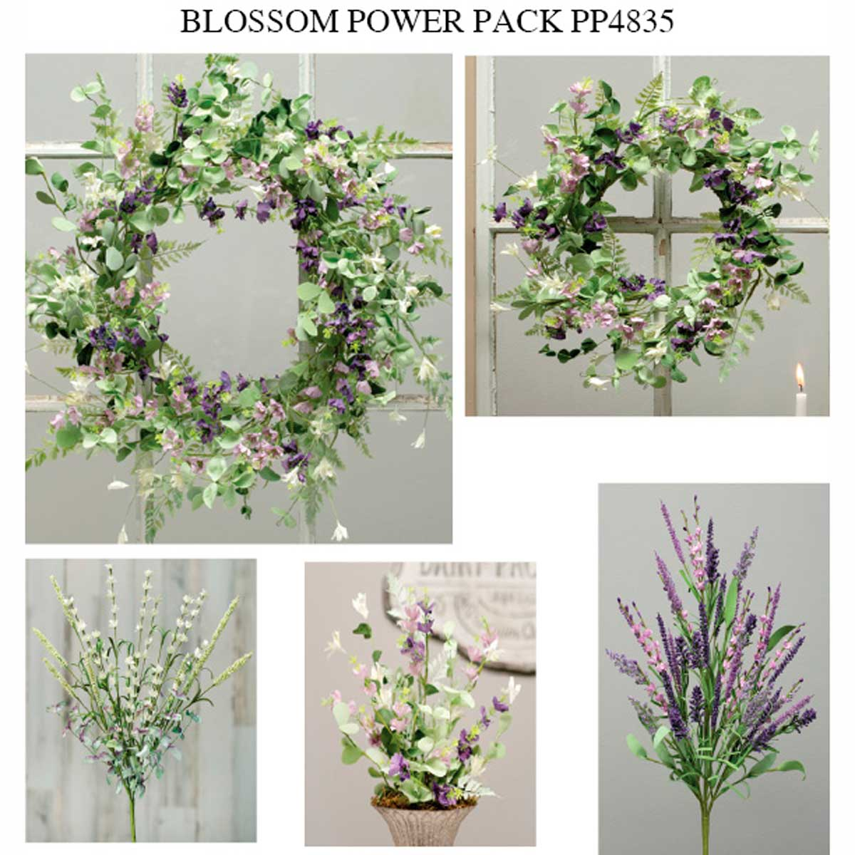 COTTAGE PURPLE BLOSSOM POWER PACK 13 UNITS