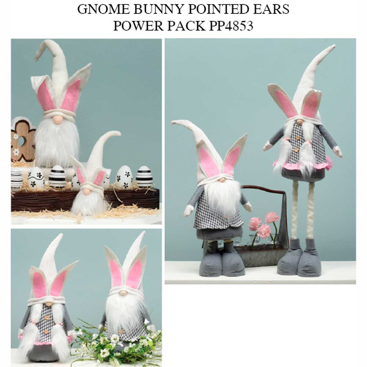 Hoppy Bunny Gnome Power Pack 14 Units PP4853