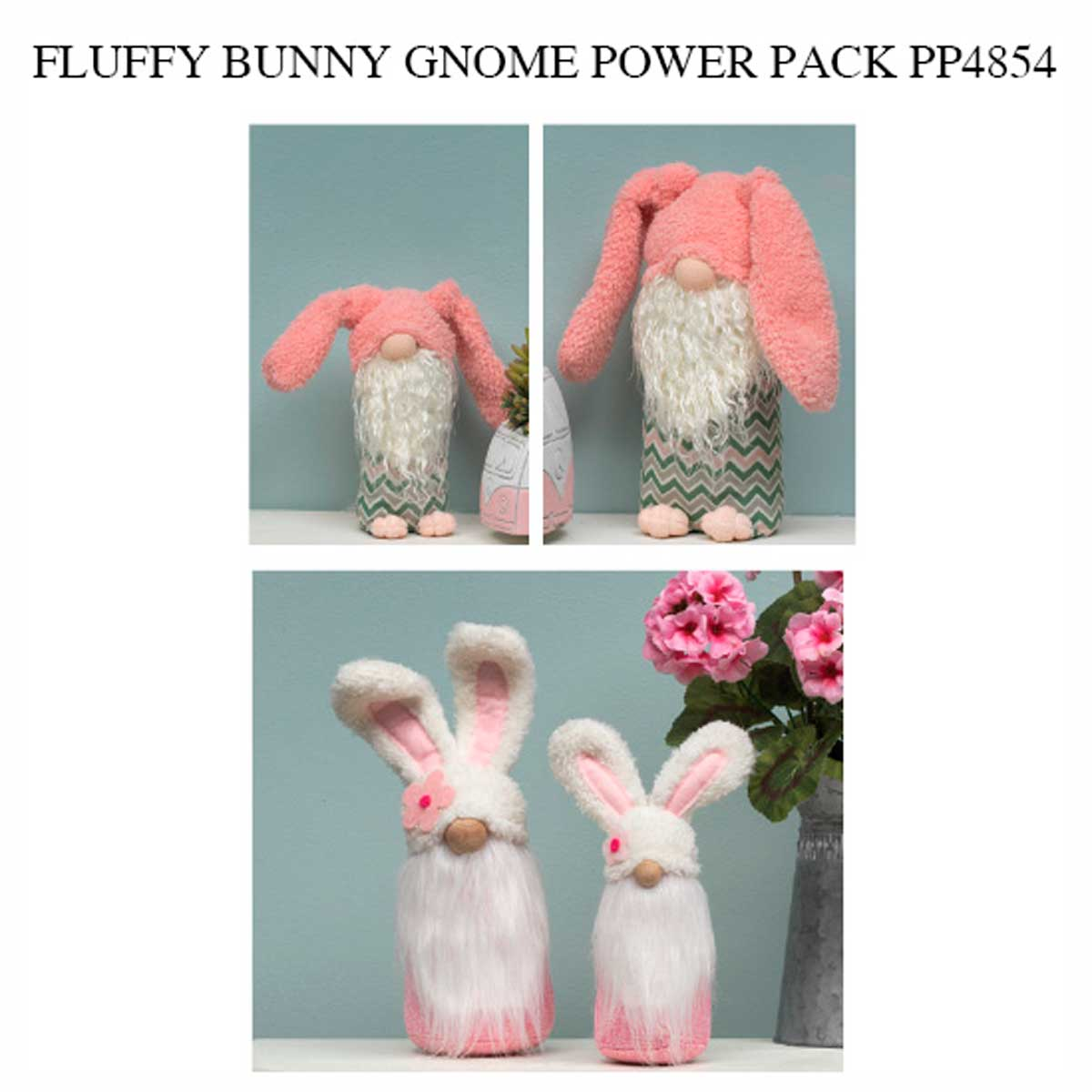 Hunny Bunny and Hobbit Gnome Power Pack 20 Units PP4854