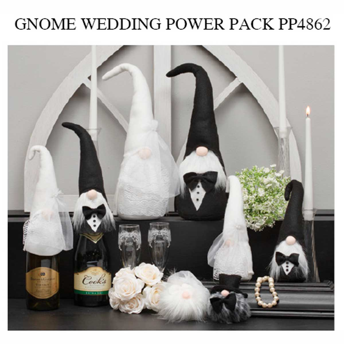 Wedding Gnomer Power Pack 26 units PP4862