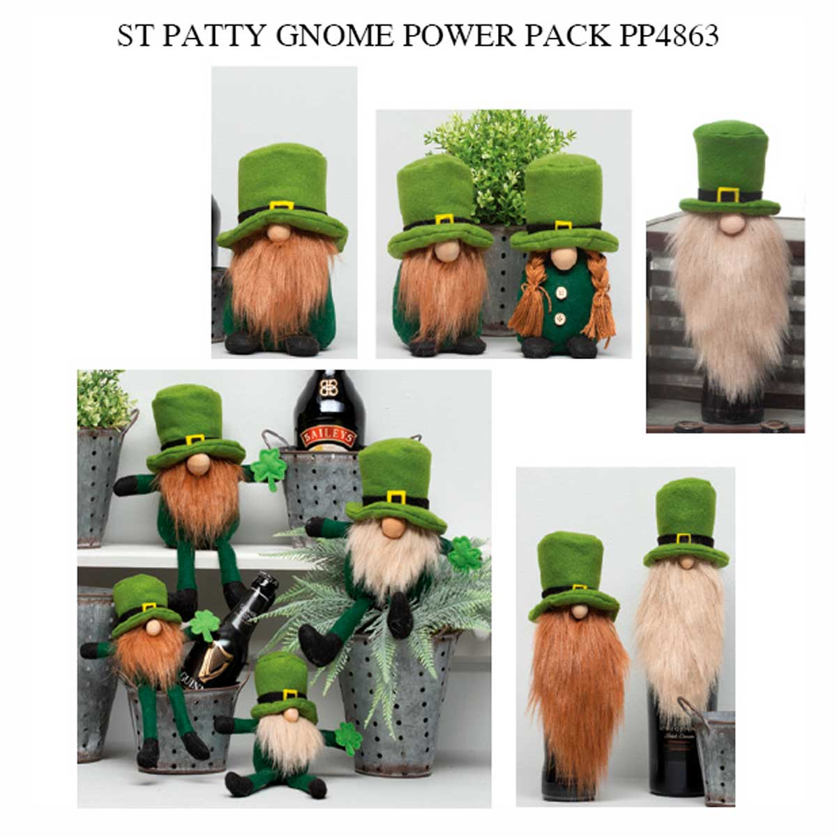 St Patty Gnome Power Pack 28 Units PP4863