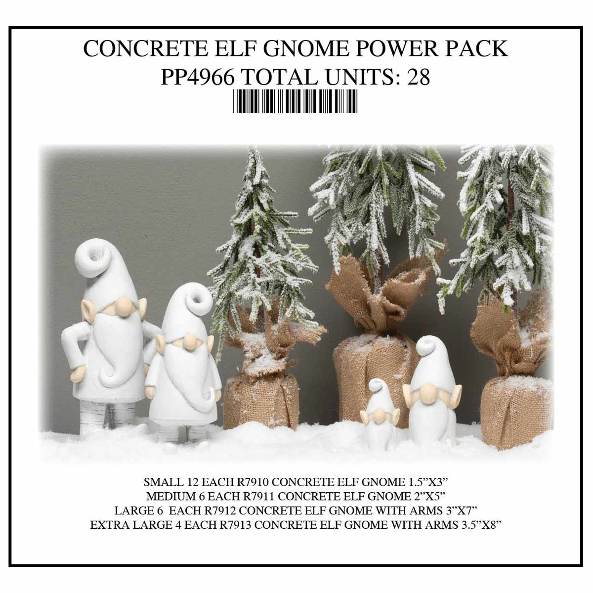GNOME ELF POWER PACK 28 UNITS PP4966