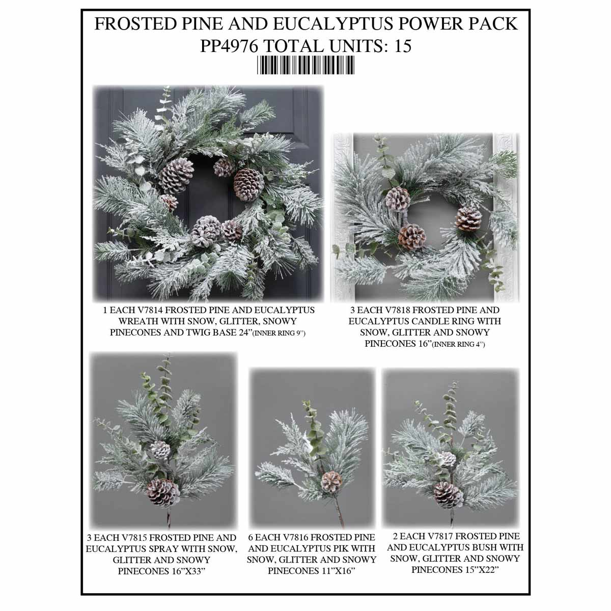 EUCALYPTUS FROST Power Pack 15 Units