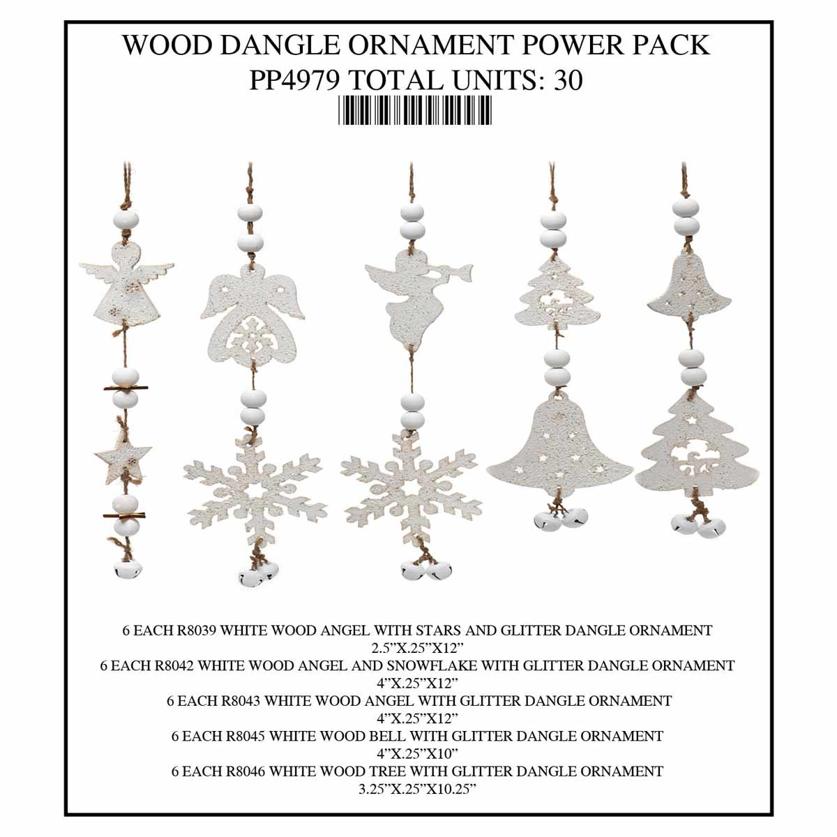 DANGLE ORNAMENT Power Pack 30 Units