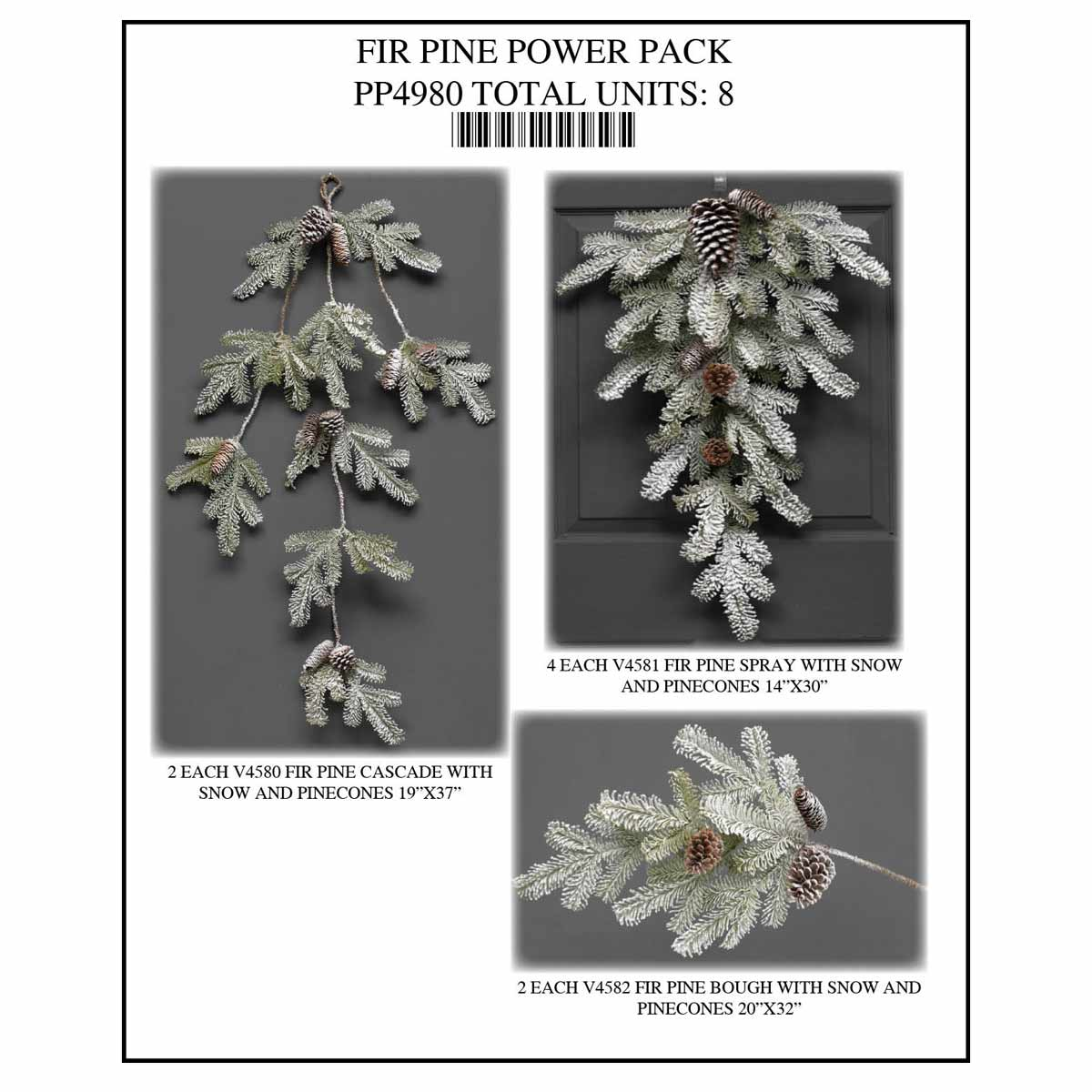 PINE FIR Power Pack 8 Units