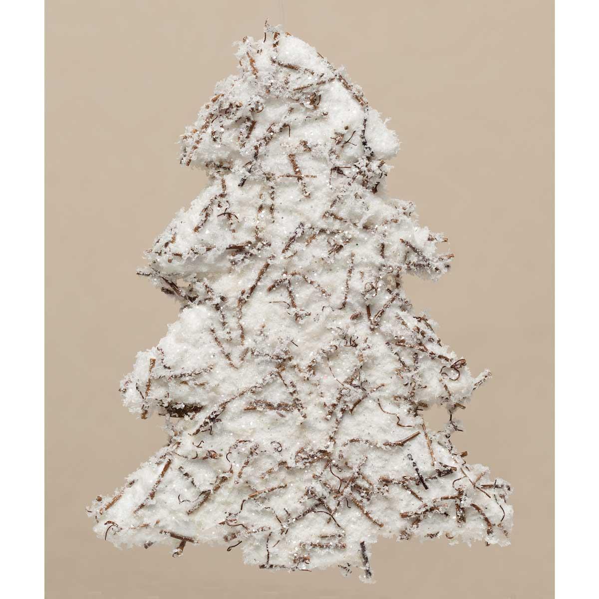 "R5699 WINTER TREE ORNAMENT 10"""